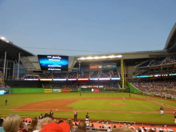 Marlins Park, section: 20, row: 6, seat: 2