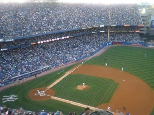 Old Yankee Stadium, section: Tier 15, row: U, seat: 2