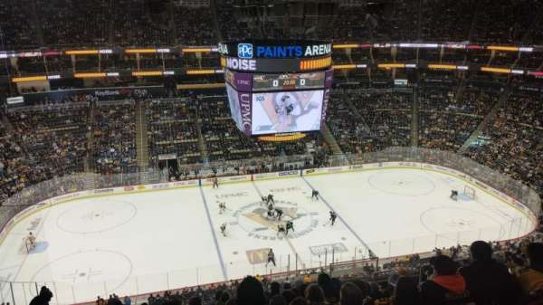 PPG Paints Arena, section: 221, row: L, seat: 7