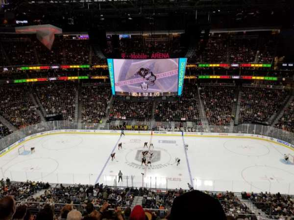 T-Mobile Arena, section: 223, row: G, seat: 18
