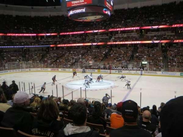 Honda Center, section: 221, row: Q, seat: 2