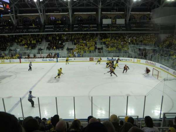 Yost Ice Arena, section: 6, row: 15, seat: 2