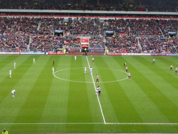 Stadium Of Light, section: Block U5, row: 41, seat: 407