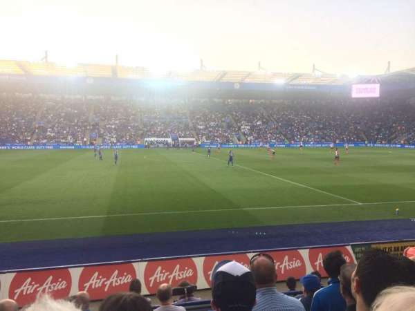 King Power Stadium, section: J1, row: G, seat: 195