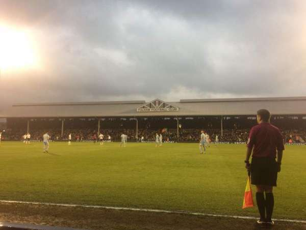 Craven Cottage, section: WL, row: 3, seat: 6