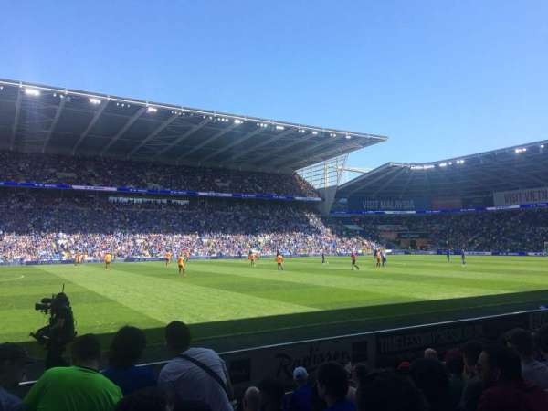 Cardiff City Stadium, section: 207, row: G, seat: 377