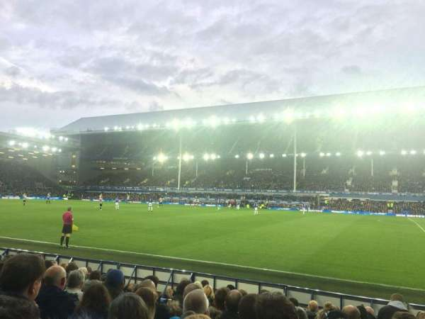 Goodison Park, section: PK4, row: 11, seat: 187