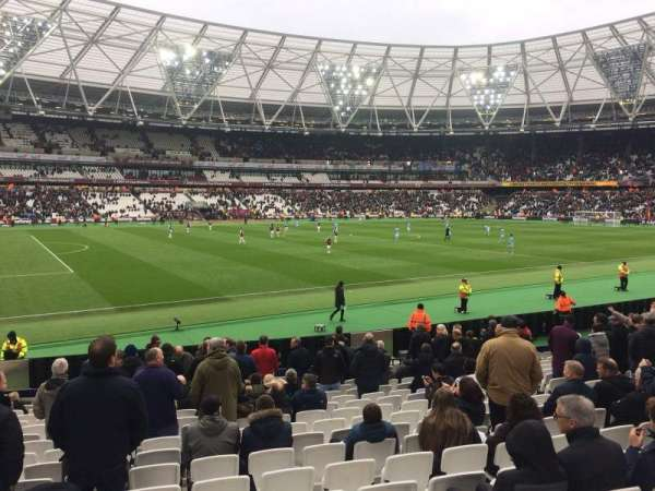 London Stadium, section: 133, row: 17, seat: 346