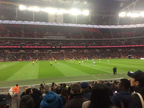 Wembley Stadium, section: 102, row: 18, seat: 67