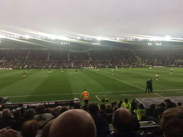 Pride Park, section: Stair 9, row: MM, seat: 144