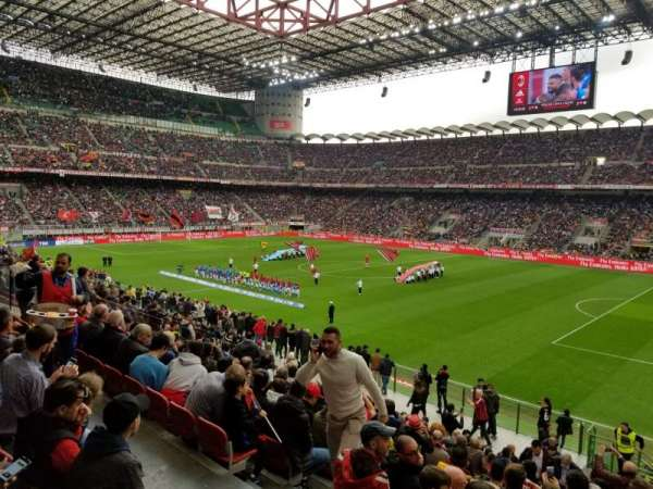 Stadio Giuseppe Meazza, section: A, row: 3, seat: 12