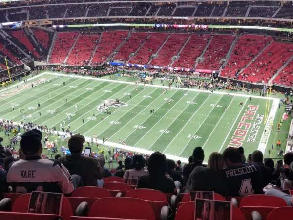 Mercedes-Benz Stadium, section: 335, row: 22, seat: 5 and 6