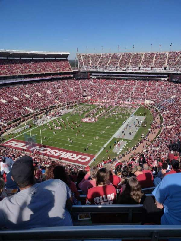 Bryant-Denny Stadium, section: SS-2 - SS-5, row: 28, seat: 18