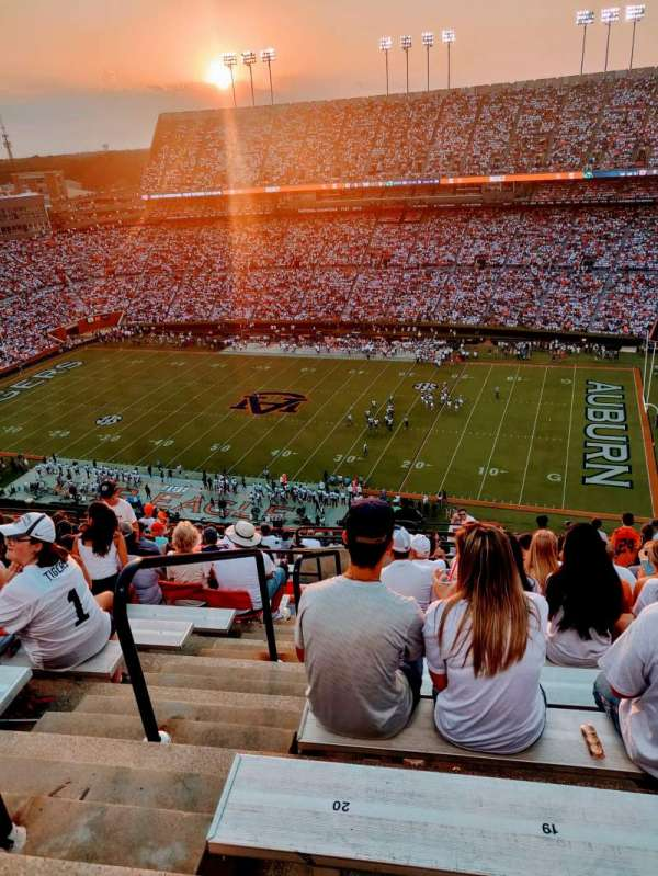 Jordan-Hare Stadium, section: 111, row: 21, seat: 20