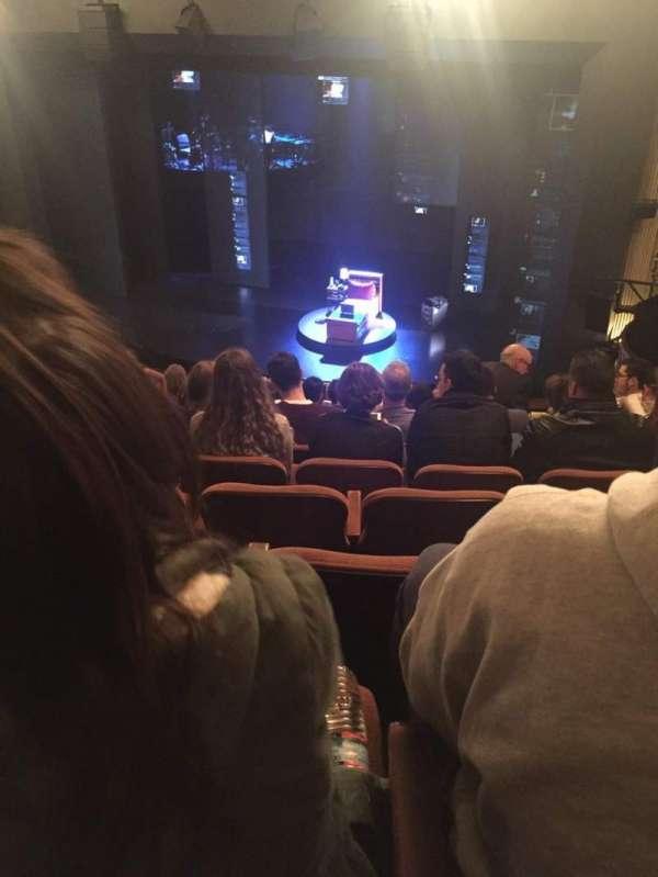 Music Box Theatre, section: Mezzanine R, row: K, seat: 10