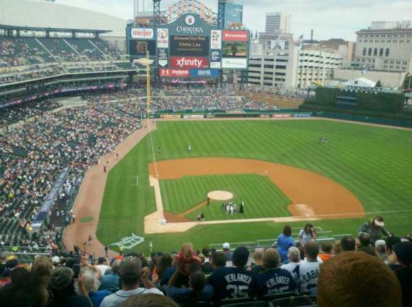 Comerica Park, section: 324, row: 18, seat: 10