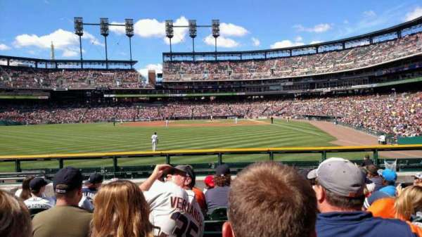 Comerica Park, section: 147, row: H, seat: 18