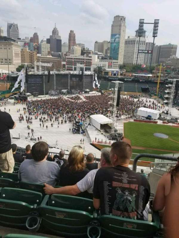 Comerica Park, section: 334, row: 8, seat: 4
