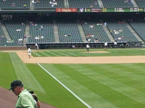 Coors Field, section: 111, row: 14, seat: 5