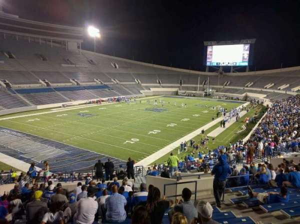 Liberty Bowl Memorial Stadium, section: 110, row: 50, seat: 10