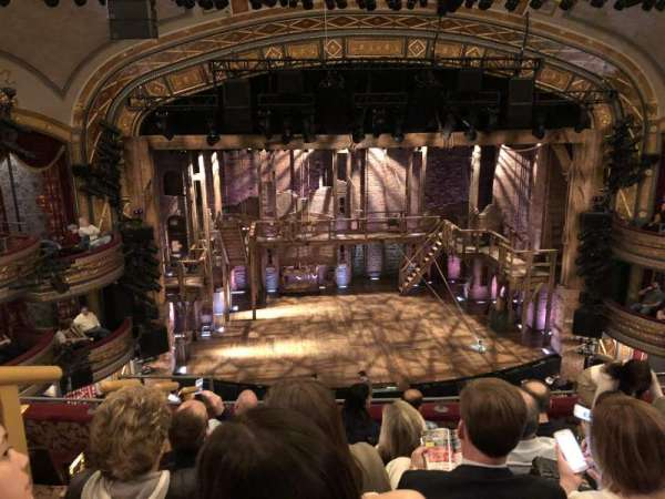 Richard Rodgers Theatre, section: Front Mezzanine R, row: F, seat: 114