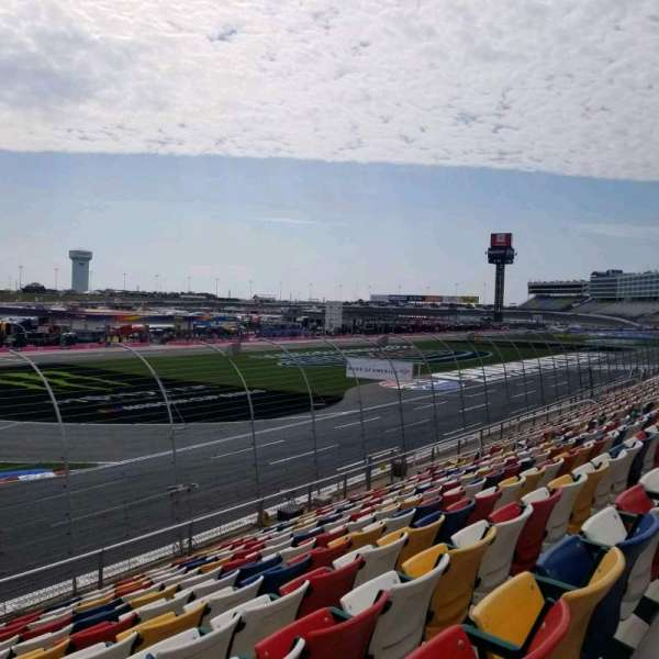 Charlotte Motor Speedway, section: A, row: 15, seat: 28