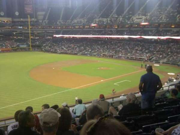 Chase Field, section: 216, row: 8, seat: 16