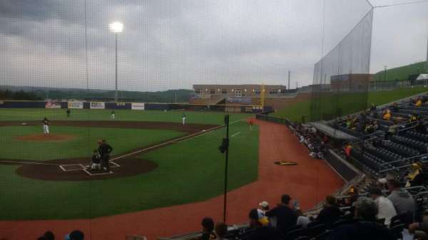 Monongalia County Ballpark, section: 104, row: J, seat: 17