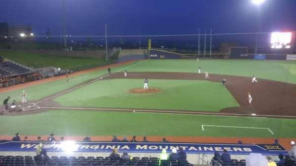 Monongalia County Ballpark, section: 108, row: R, seat: 24