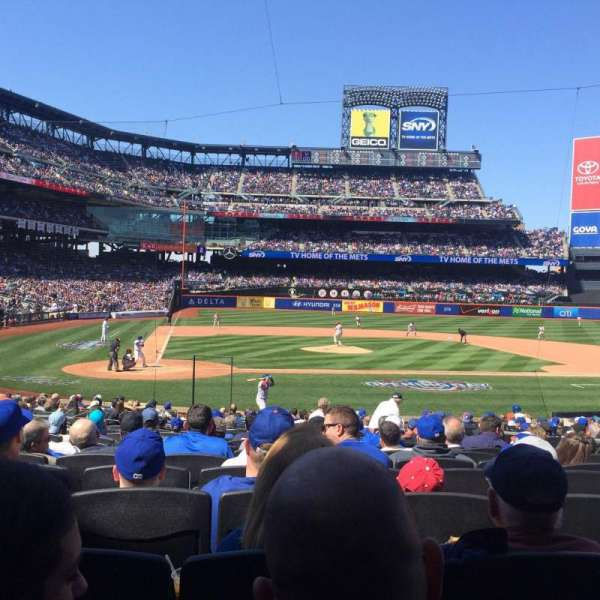 Citi Field, section: 12, row: 20, seat: 12