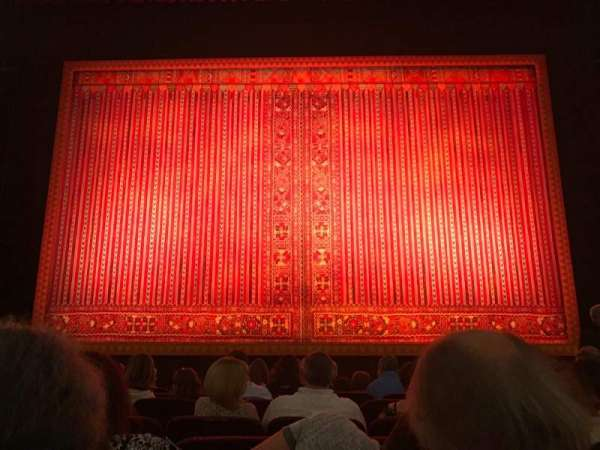Citizens Bank Opera House, section: Orch, row: D, seat: 106