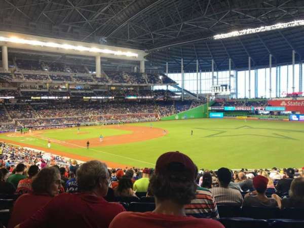 Marlins Park, section: 3, row: 24, seat: 12