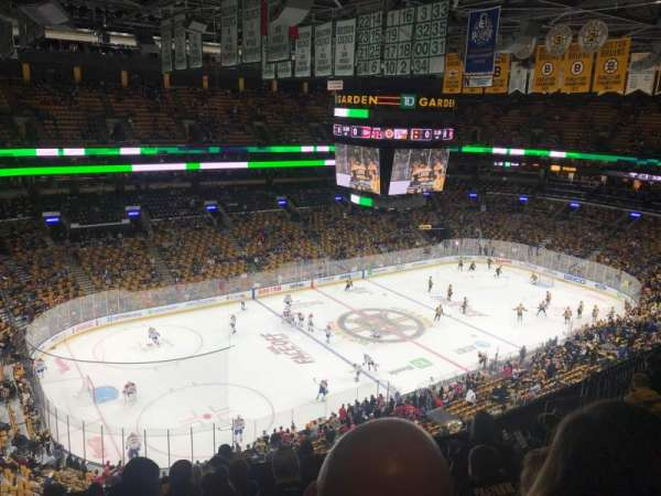 TD Garden, section: Bal 304, row: 10, seat: 15