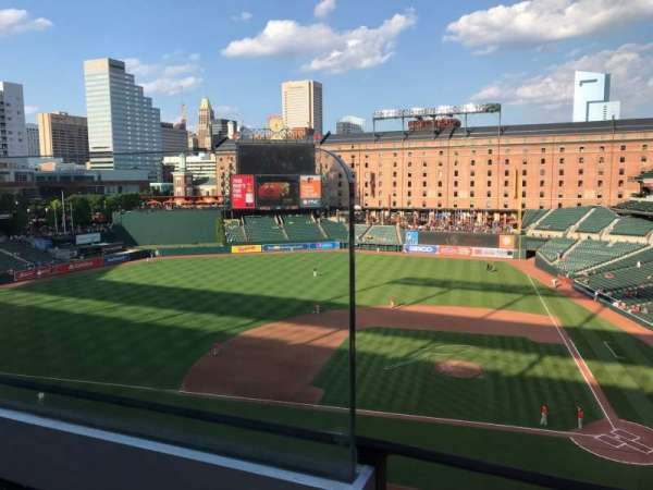 Oriole Park at Camden Yards, section: 350, row: 1, seat: 10