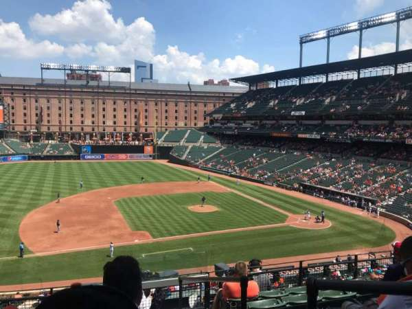 Oriole Park at Camden Yards, section: 252, row: 7, seat: 1