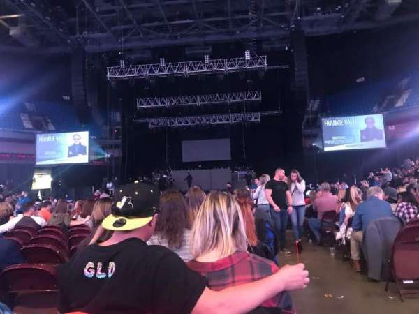 Mohegan Sun Arena, section: 5, row: N, seat: 1