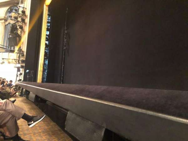 Ambassador Theatre, section: Orchestra R, row: CC, seat: 6