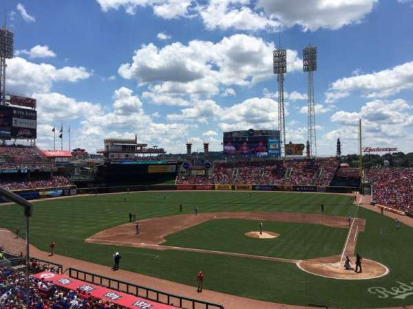 Great American Ball Park, section: 220, row: A, seat: 7