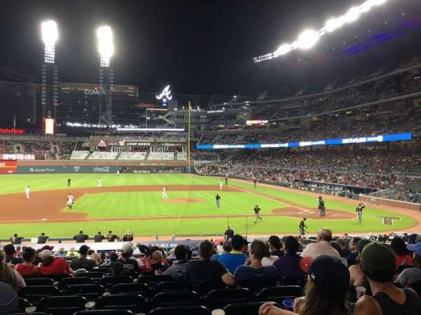Truist Park, section: 131, row: 10, seat: 10