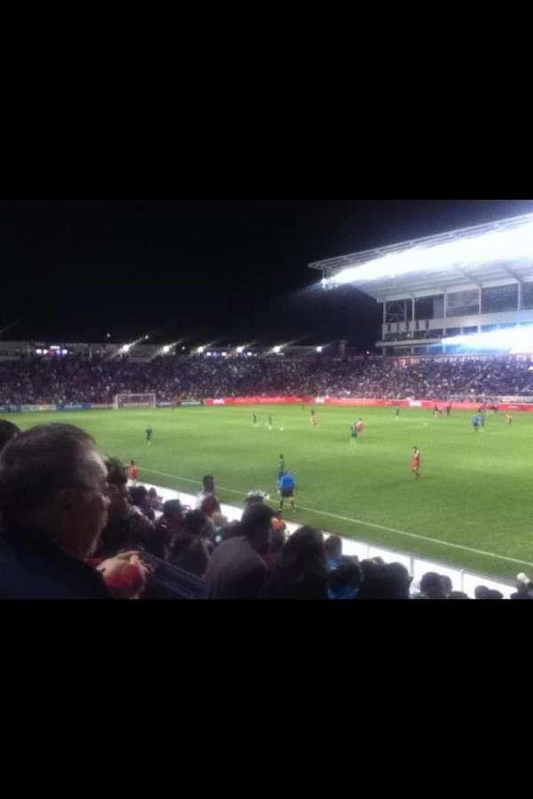 SeatGeek Stadium, section: 103, row: 13, seat: 1