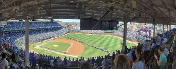 Wrigley Field, section: 426R, row: 8, seat: 7,8