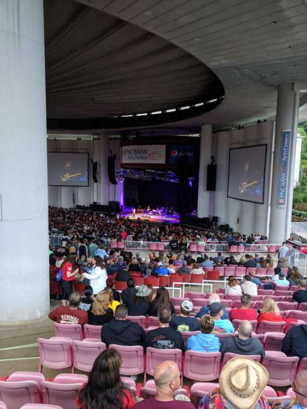 PNC BANK ARTS CENTER, section: CITI DECK , SOUTH DECK