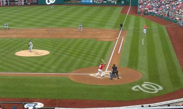 Nationals Park, section: 210, row: B, seat: 4