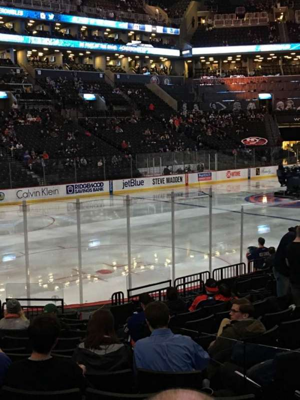 Barclays Center, section: 12, row: 13, seat: 6