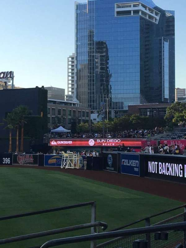 PETCO Park, section: 121, row: 20, seat: 18