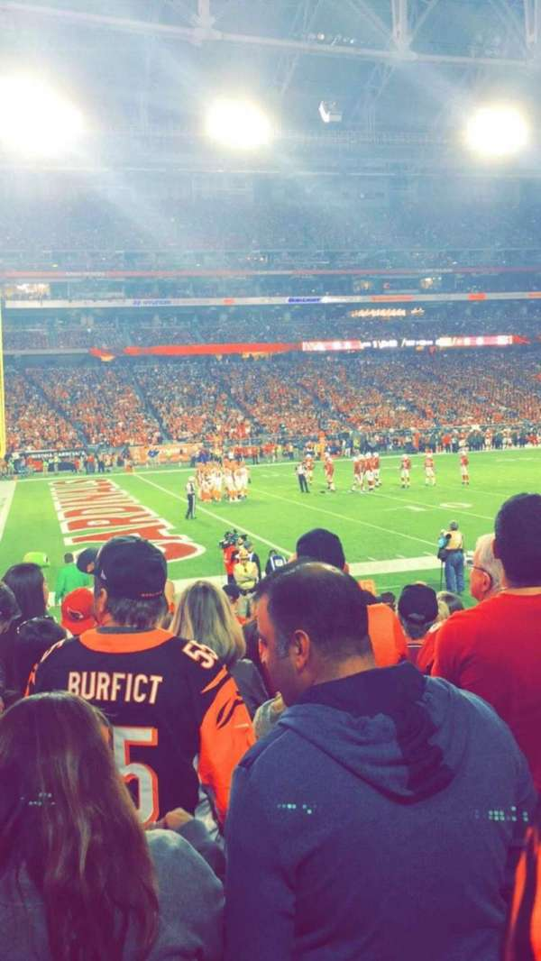 University of Phoenix Stadium, section: 135, row: 11, seat: 10