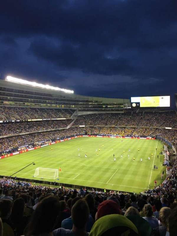 Soldier Field, section: 349, row: 9, seat: 10