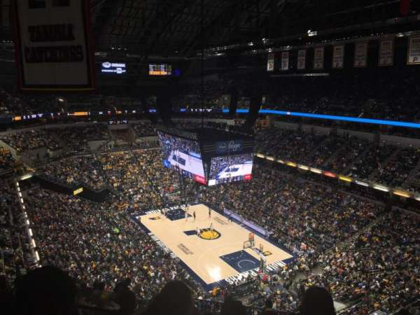 Bankers Life Fieldhouse, section: 220, row: 12, seat: 4