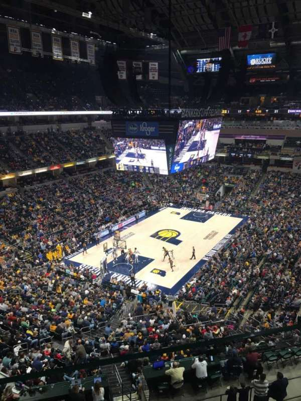 Bankers Life Fieldhouse, section: 229, row: 1, seat: 16