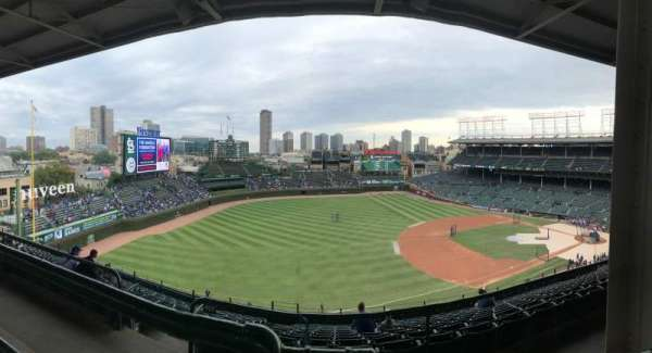 Wrigley Field, section: 508, row: 1, seat: 101